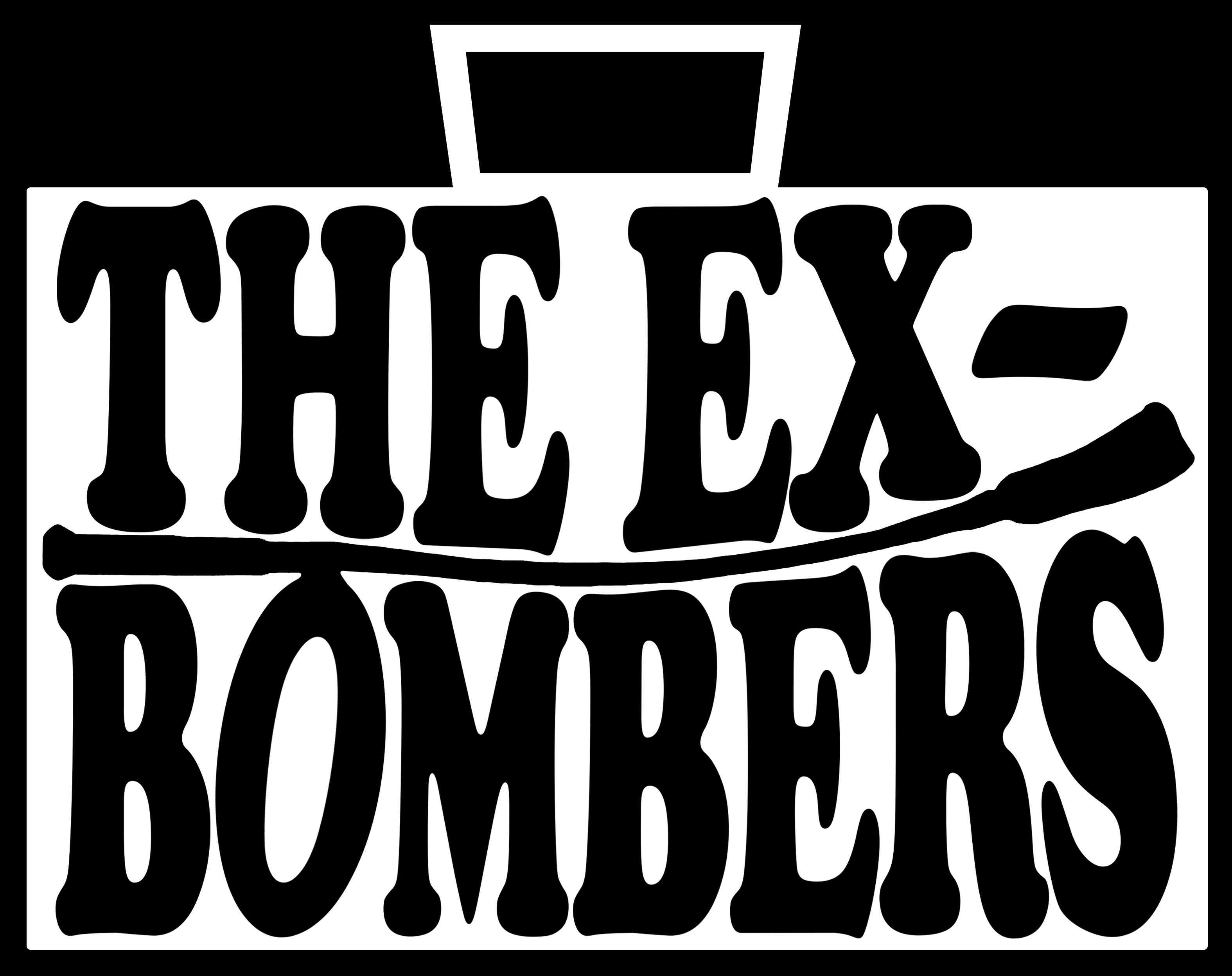 The Ex-Bombers electronic press kit and band profile on